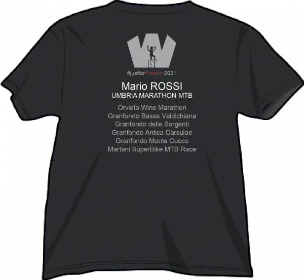 Nero KS Ranking Umbria Marathon MTB 2021 - Retro