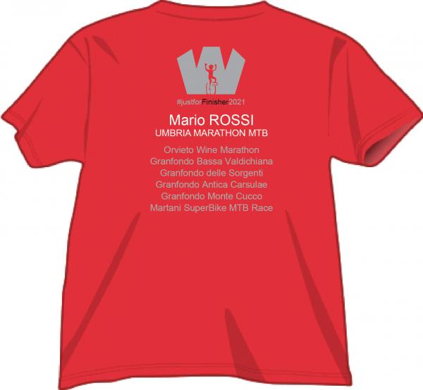 Rosso KS Ranking Umbria Marathon MTB 2021 - Retro